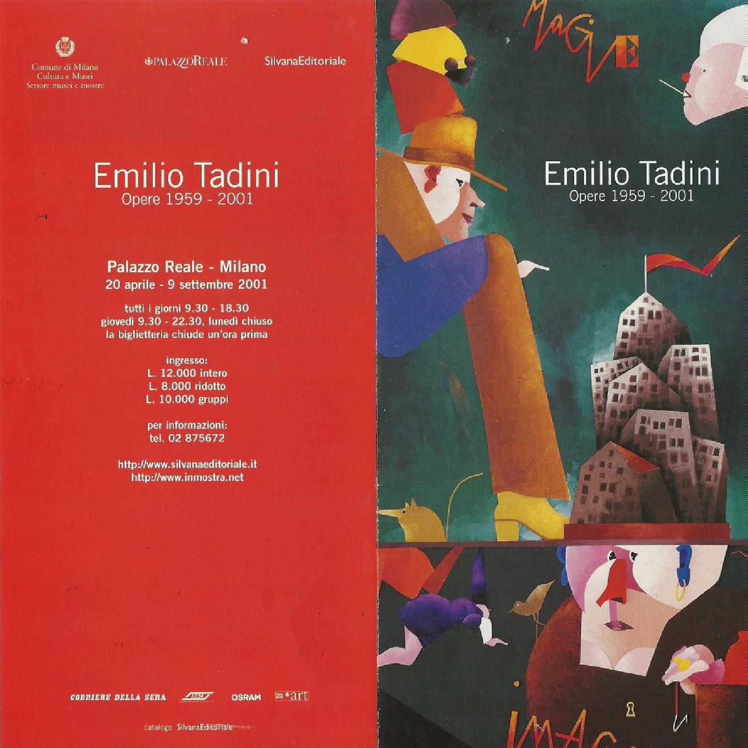 PALAZZO REALE – EMILIO TADINI